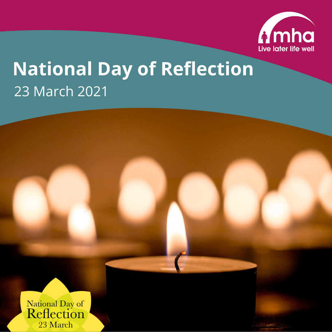 MHA marks National Day of Reflection 23 March 2021