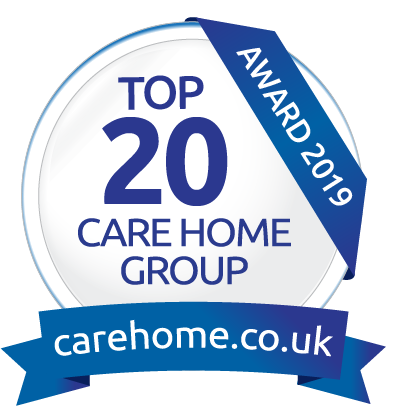 Top 20 award for MHA and its care homes