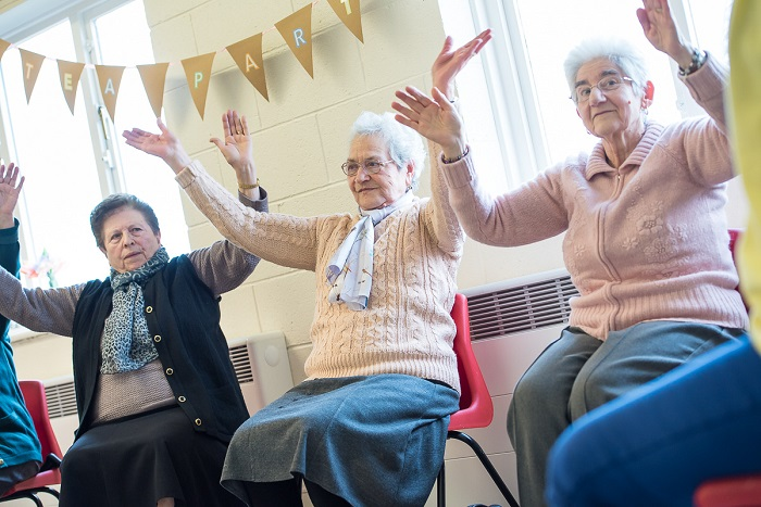 exercise classes for older people