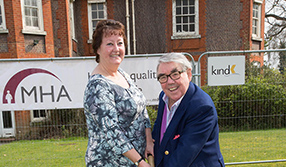 Ronnie Corbett supports charity appeal for Shirley care home redevelopment
