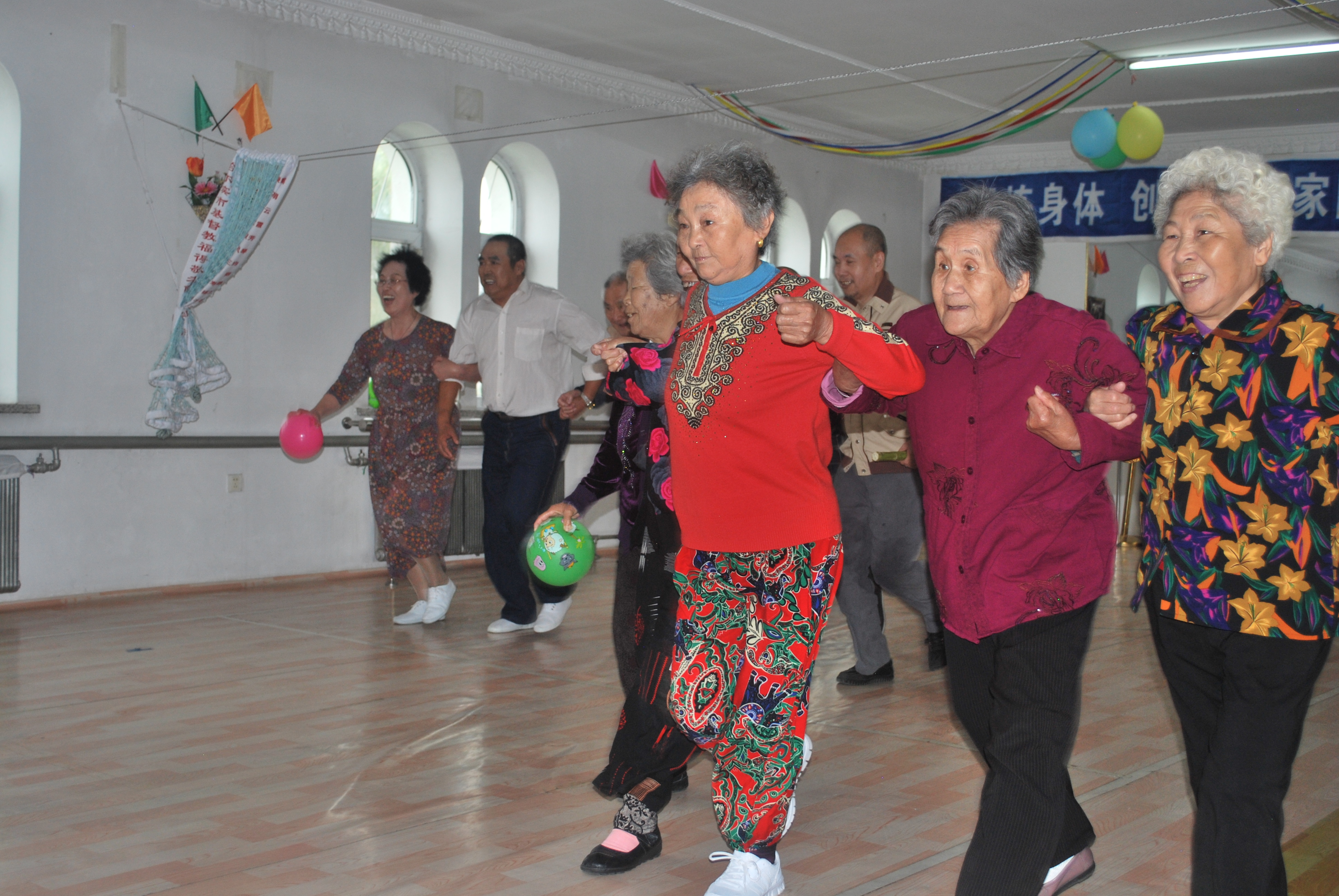Helping China shape their older person's care