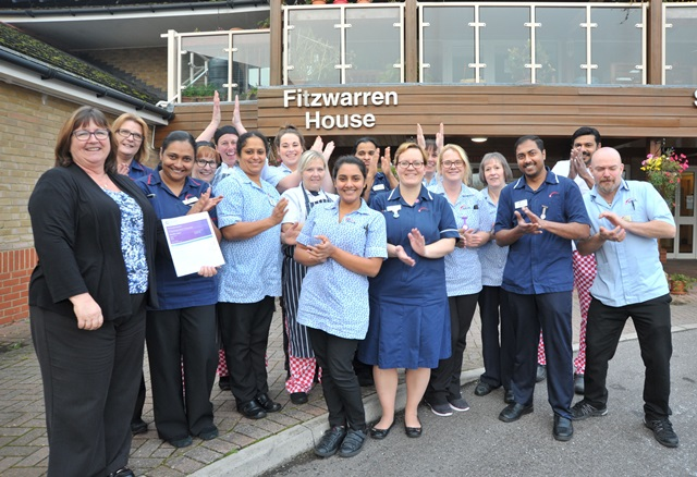 Celebrations as Fitzwarren House classed 'outstanding'