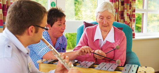 Our music therapy team is shortlisted for an award