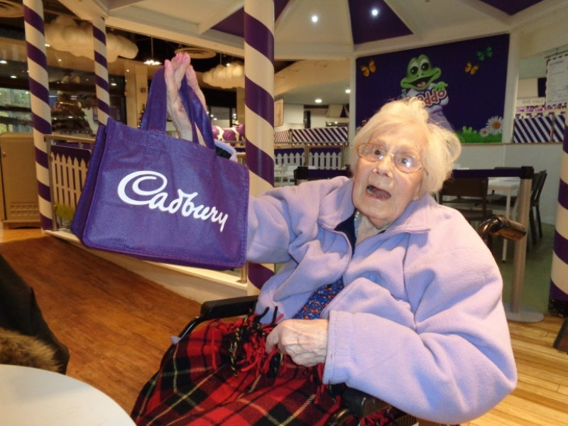 Elsie visits Cadburys World - Seize The Day.jpg
