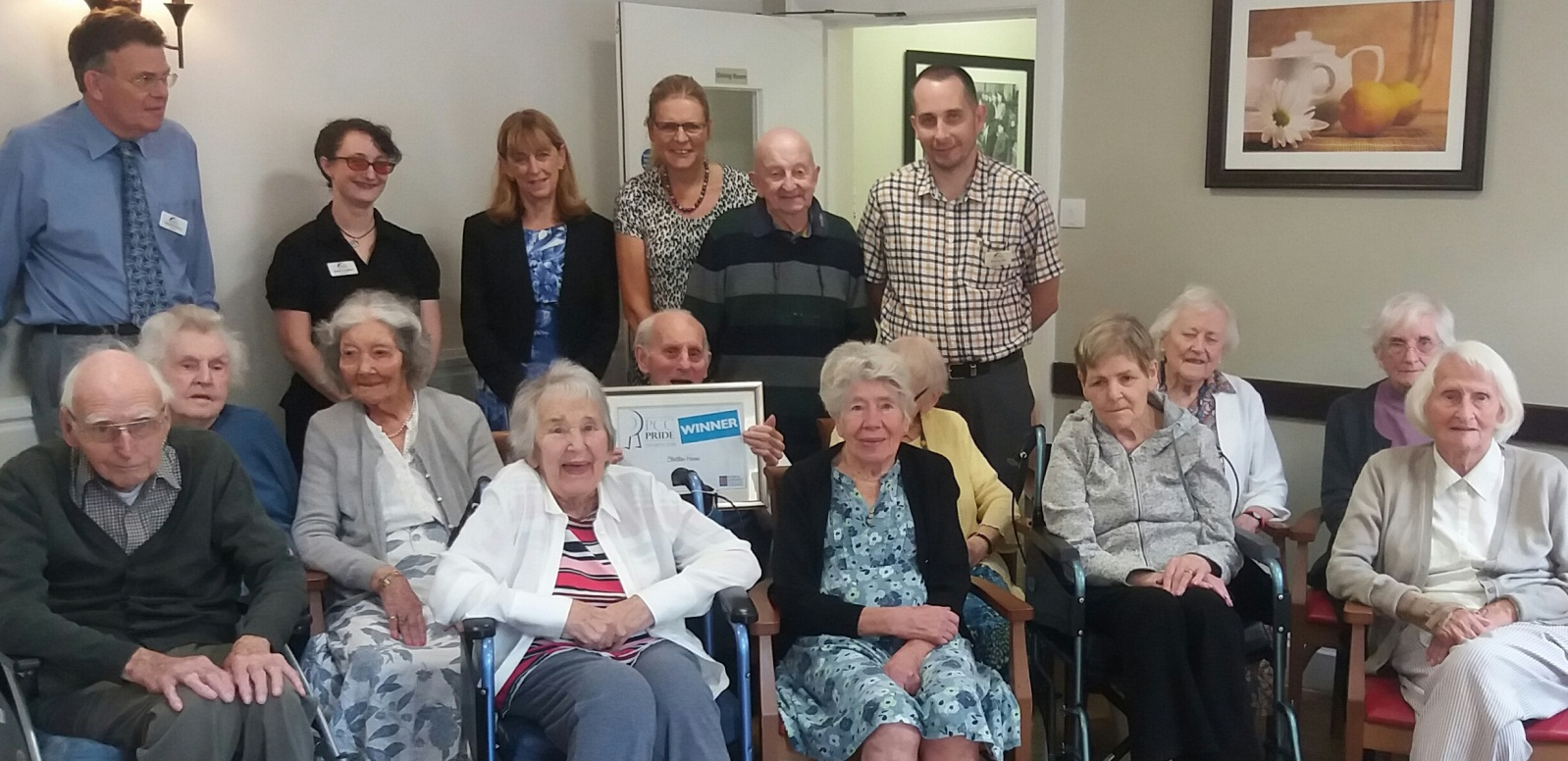 Stratton House residents receive Police and Crime Commissioner Award