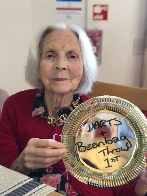 Newport Pagnell care home crowns its own Olympians