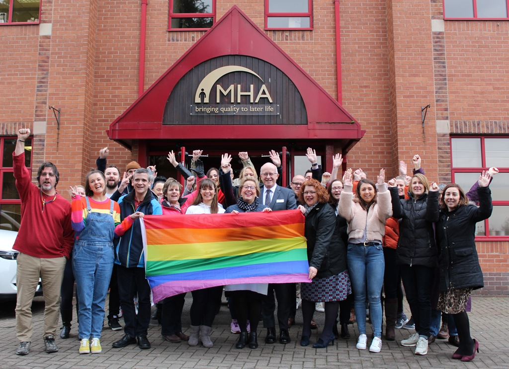 Flying the flag for LGBT History Month
