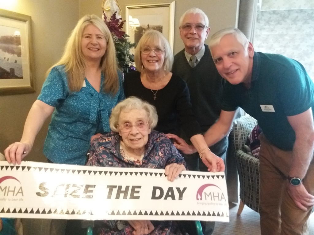 Confidence boost for Doreen helps her Seize The Day
