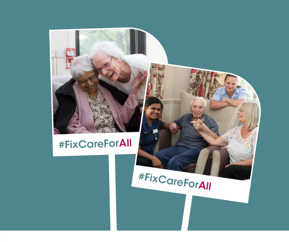 #FixCareForAll - MHA launches campaign for social care reform