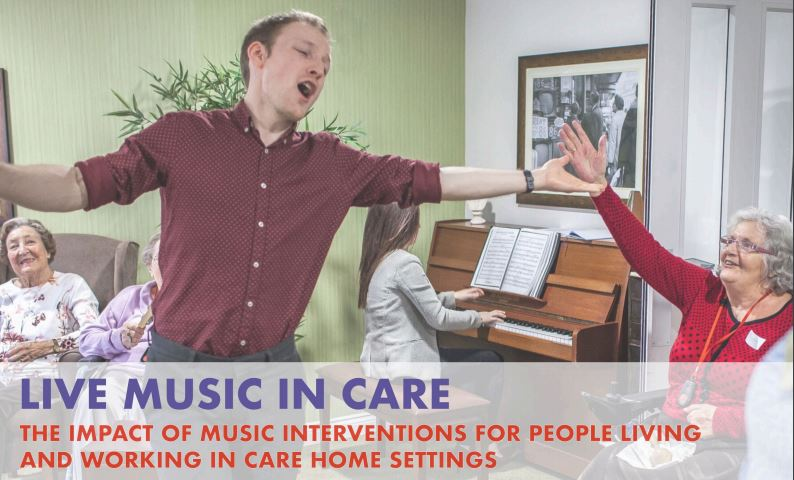 Live Music in Care report