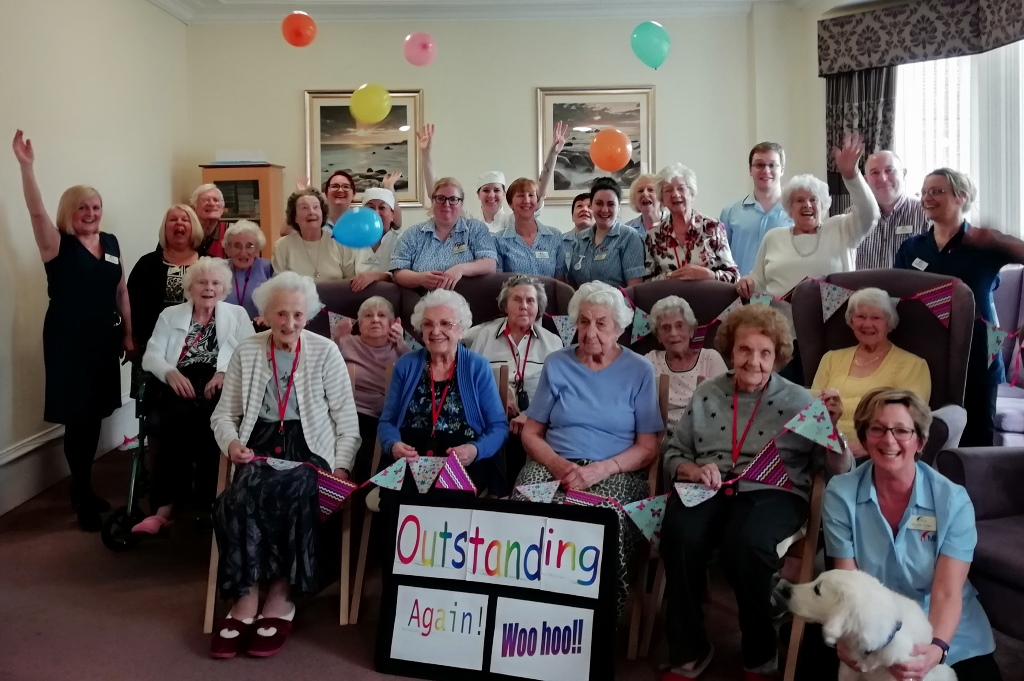 Celebrating two more 'outstanding' MHA care homes