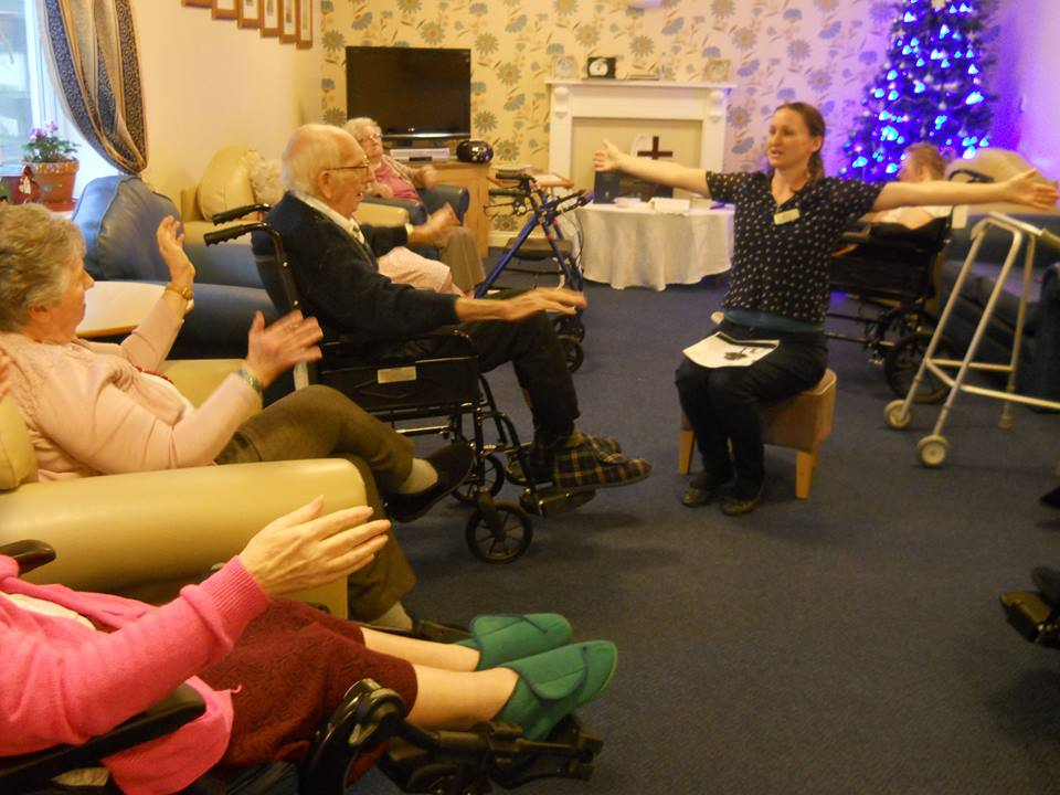 'Biblical Yoga' at Care Home to be part of church initiative