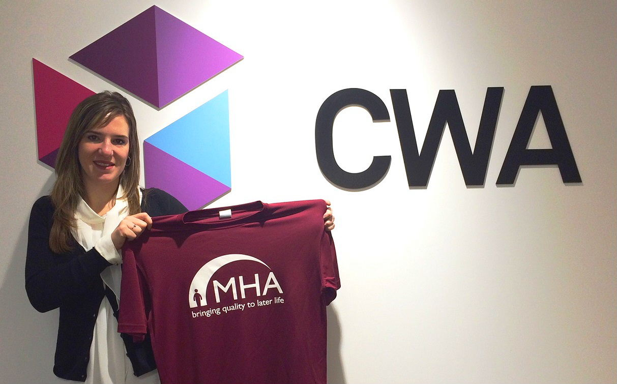 Meet Jen Camilletti, our London Marathon runner for 2016 who will be pounding the streets of our capital to raise money for MHA's Live at Home schemes.