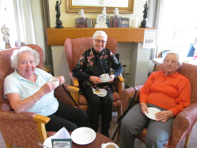 residents at The Martins care home