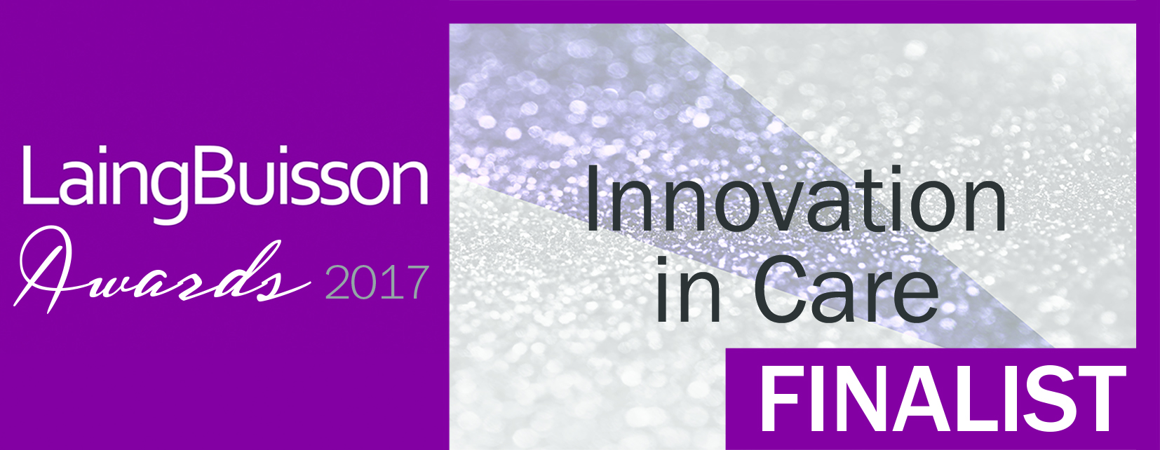 LaingBuisson Innovation in Care award logo