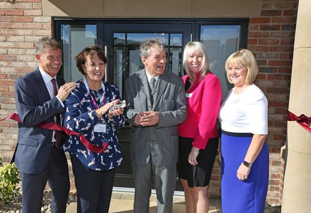 John Middleton officially opens Montpellier Manor