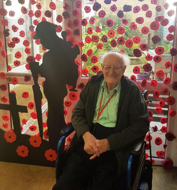 War Veteran Sgt William Hewson-Tutty will remember dear friend this Armistice Centenary
