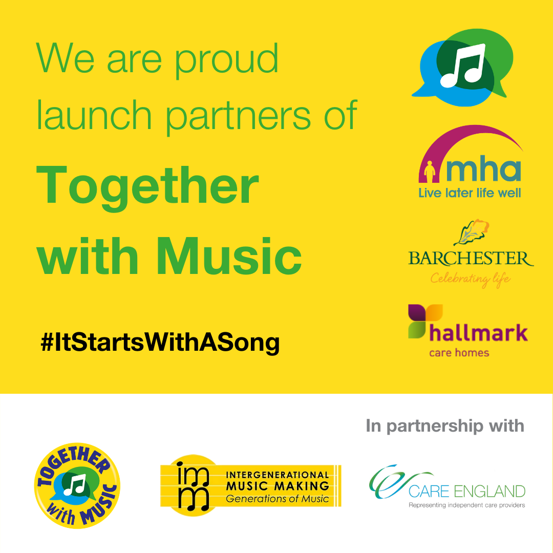 We're Proud To Support The Together With Music Campaign