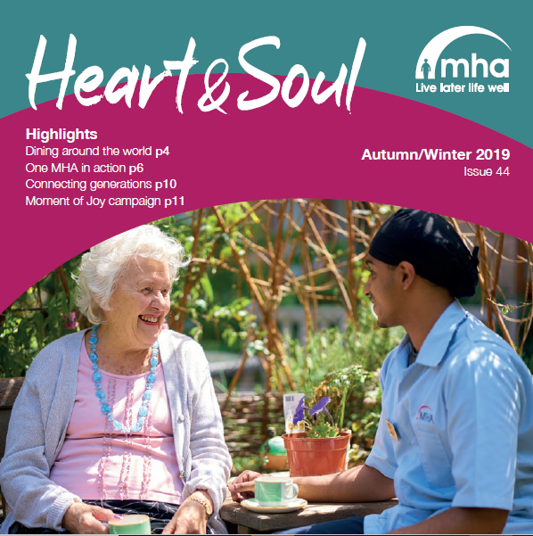 MHA Heart and Soul publication - Autumn/Winter 2019